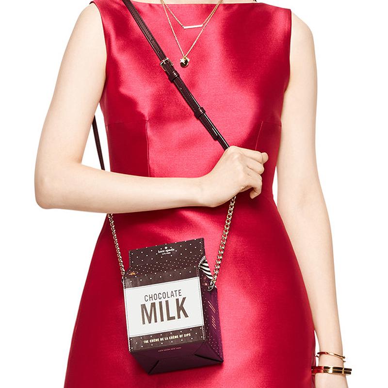 New Unique personalized chocolate milk box chain letter fashion ladies handbag shoulder bag messenger bag purse party gift(China (Mainland))