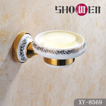Write to do a thousand Chinese showell new classical European bathroom hardware ceramic dish soap dish rack + 8569
