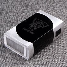 Dos Equis Style  Box Mod – Silver