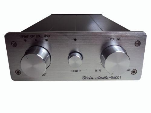 PCM2902E DAC HIFI Audio Decoder Sound Card OPTICAL SPDIF BNC USB Input<br><br>Aliexpress