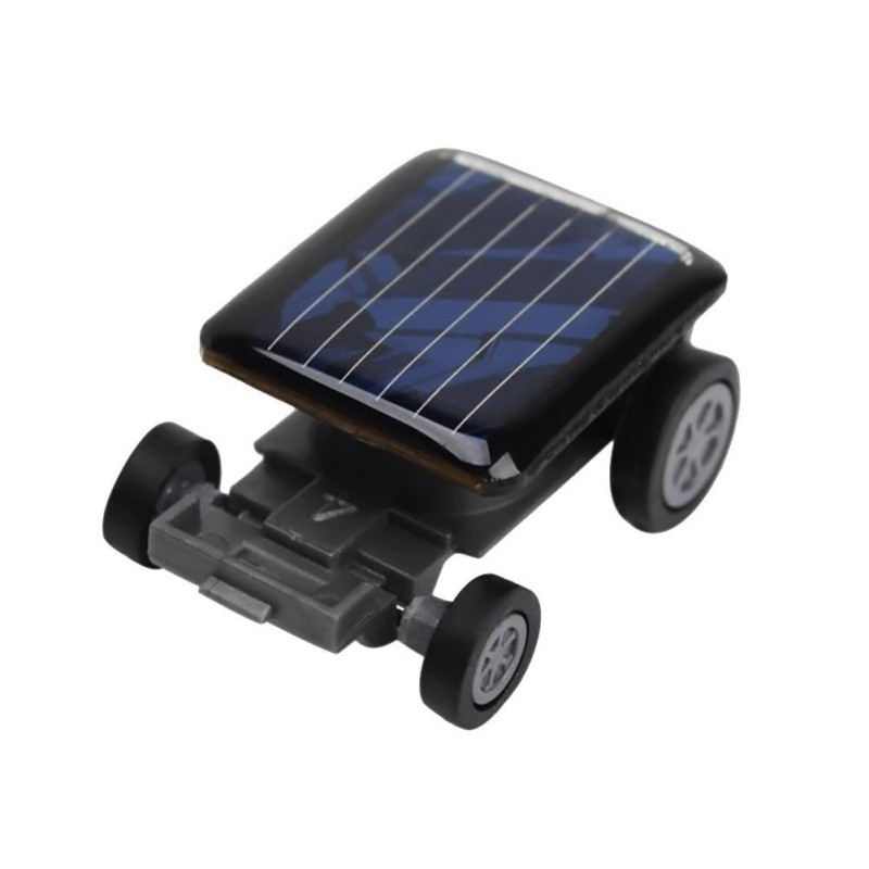 Children Kid's Mini Solar Power Toy Car Robot Auto Racer Educational Gadget(China (Mainland))