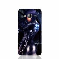 23237 Ghost in the Shell dark cell phone case cover for Samsung Galaxy J1 MINI J2 J3 J7 ON5 ON7 J120F 2016