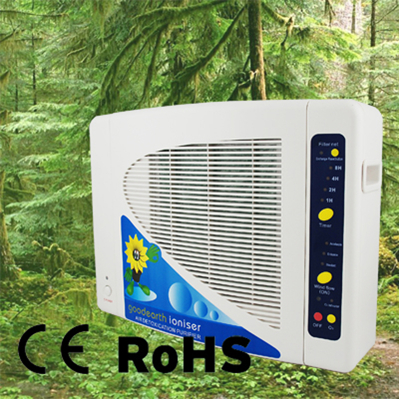 Negative Hepa Air Cleaner : Hepa filter air purifier with function negative ion and