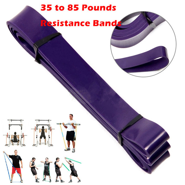 2015 New Design Pilates Pull Up Assist Bands Crossfit Yoga Exercise Body Ankle Fitness Resistance Loop