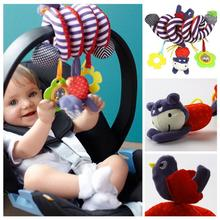2016 NEW Infant Toys Baby Crib Revolves Around The Bed Stroller Playing Toy Crib Lathe Hanging Baby Rattles Mobiles #45(China (Mainland))