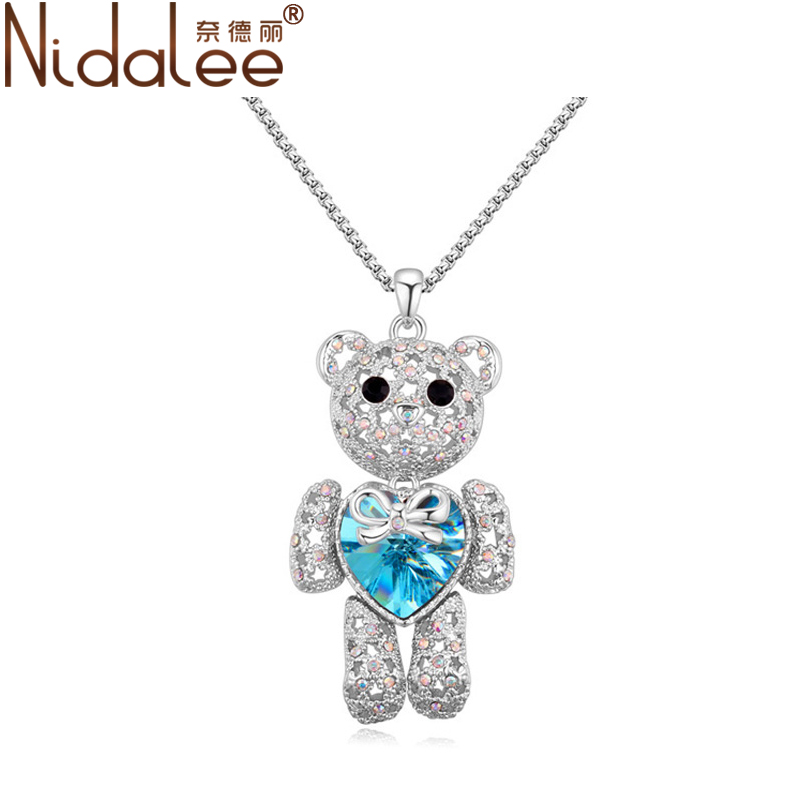 Compra swarovski collar de oso online al por mayor de for Jewelry stores in bear delaware
