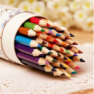 Art Supplies 12/18/24/36 Color lapices Fine Art Drawing Oil Base Non-toxic Colored Pencils Set For Artist Sketch stationery