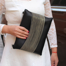 Vintage day clutch bag 2014 autumn and winter women's trend handbag fashionable casual envelope bag messenger bag