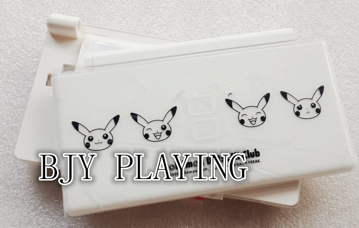 Repair Parts Housing Case Full Set For Nintendo DS Lite Housing Case Shell White Color Free Shipping(China (Mainland))