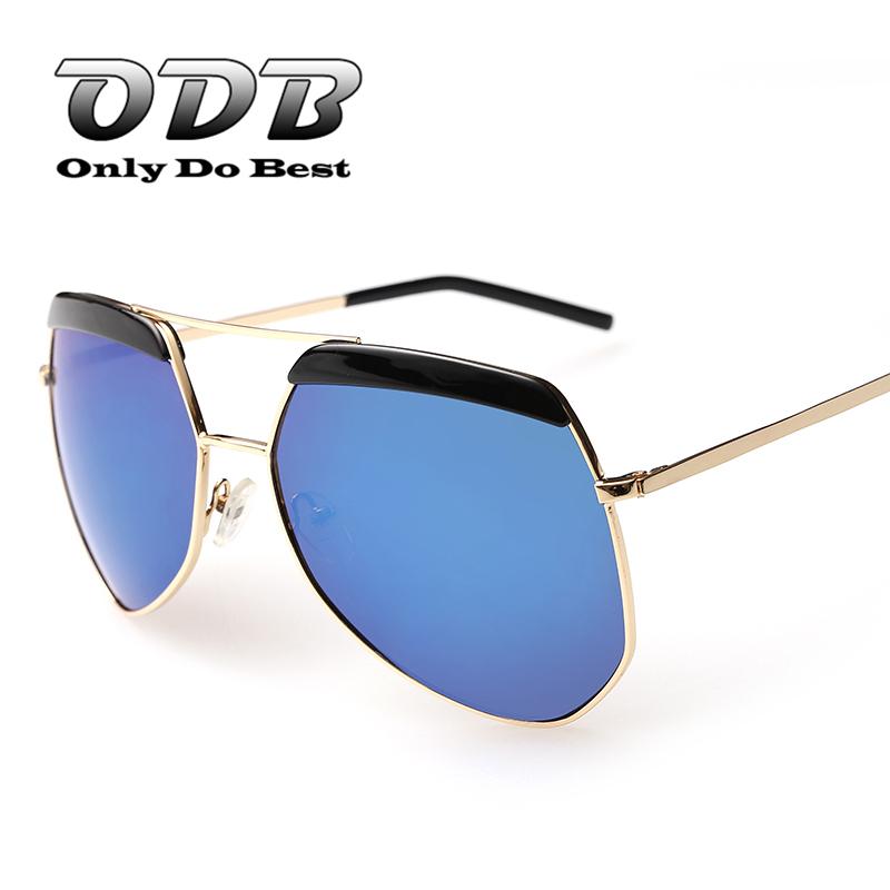 ODB Vintage Fashion Anti Glare Polarized Polaroid Lens Sunglasses Mens & Womens Aluminum Alloy Frame Unisex Eye Wear OS002 - Sunglasses(Polarized Polariod Sun Glasses for Men Women store)