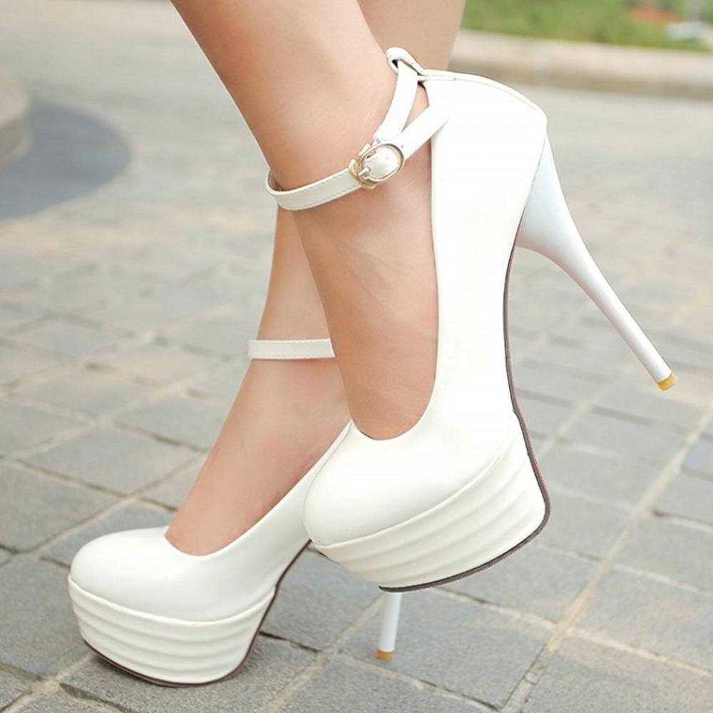 Sexy Red Platform Heels