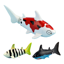 Creative Radio Remote Control Shark Water Toy Fish Coke Can RC Toys for Kids(China (Mainland))