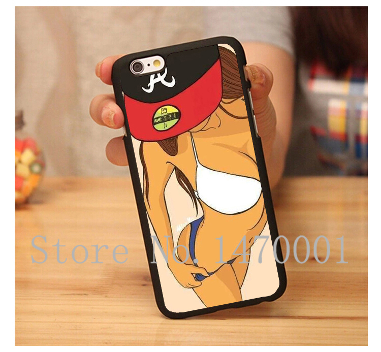 Brand New Luxury Sexy Girls Floral V Retro Custom Printed Hard Plastic Mobile Protector Case for iPhone 4 4s 5 5s 5c 6 6 Plus(China (Mainland))