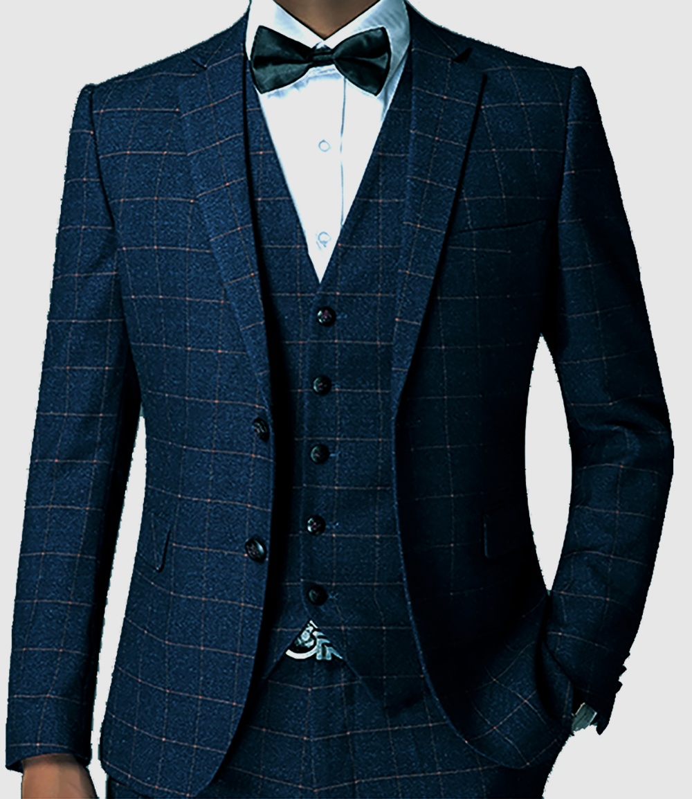 Popular Check Men Suits-Buy Cheap Check Men Suits lots from China