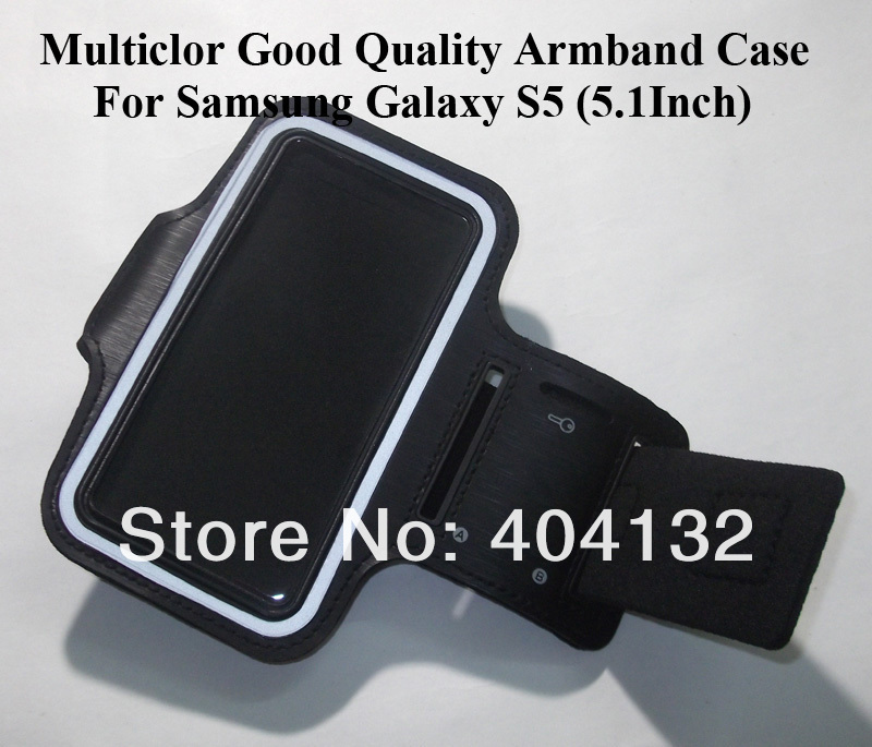 500PCS Multiclor Gym Sports Cell Phone Armband For Samsung Galaxy S5 Arm Band By Fedex/DHL(China (Mainland))