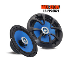 """New 120 Watts High quality 6.5"""" 2-way Two Coaxial Car Audio Speakers Speaker(China (Mainland))"""