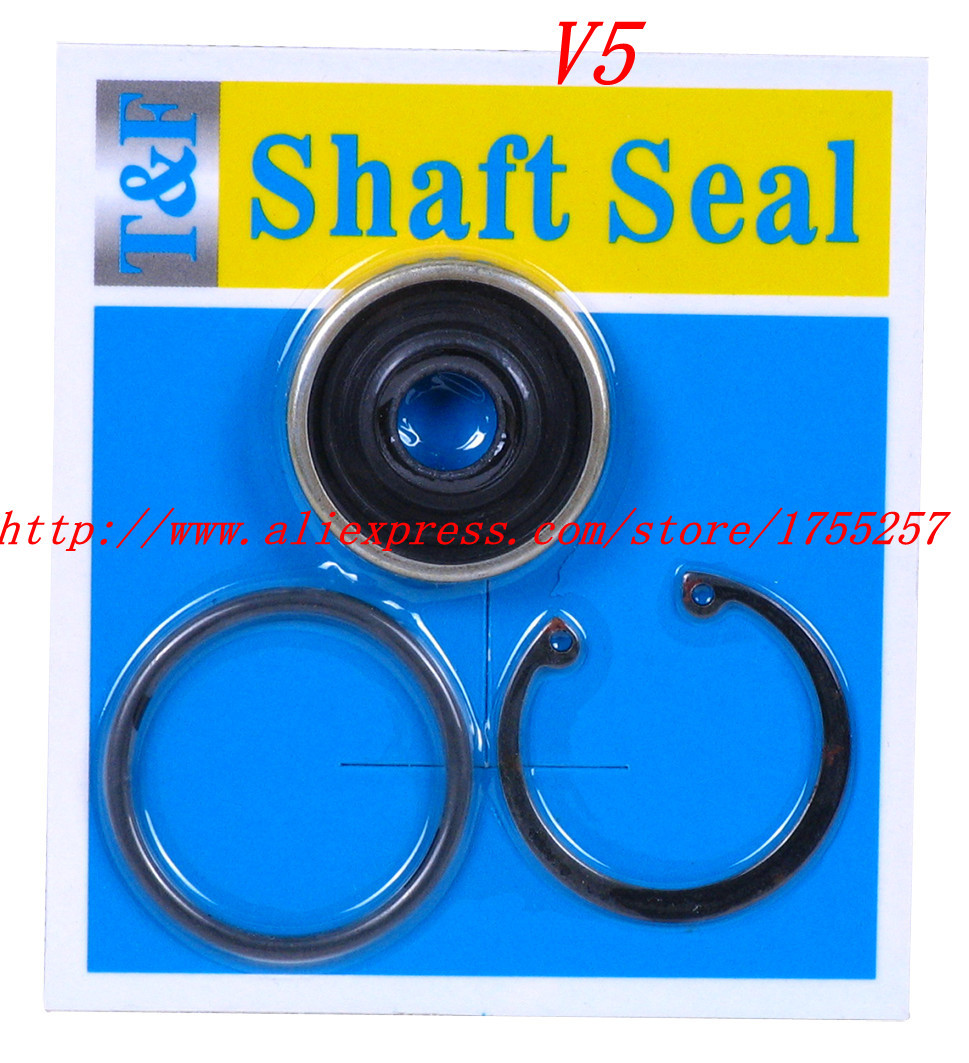 Free Shipping V5 Automotive air conditioning compressor shaft seal oil seal /sanden Air conditioning compressor seal(China (Mainland))