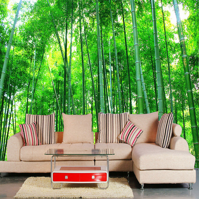 high quality bamboo forest wallpaper buy cheap bamboo forest wallpaper lots from high quality. Black Bedroom Furniture Sets. Home Design Ideas