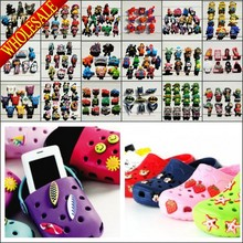 Free DHL-1000pcs Lovely PVC Shoe Charms / Shoe Buckles Wholesale, Shoe Accessories,Charm decoration,Party Supplies,Kids Gift(China (Mainland))