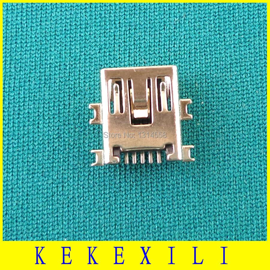 Mini power jack for MP3 MP4 mini USB 5P Free shipping wholesale laptop cable fan hinge dc jack usb jack 50X(China (Mainland))