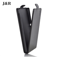 J&R Brand For Sony Xperia M4 Aqua Dual E2303 E2333 E2353 High Quality PU Leather Wallet Flip Holder Cover 9 Colors in Stock