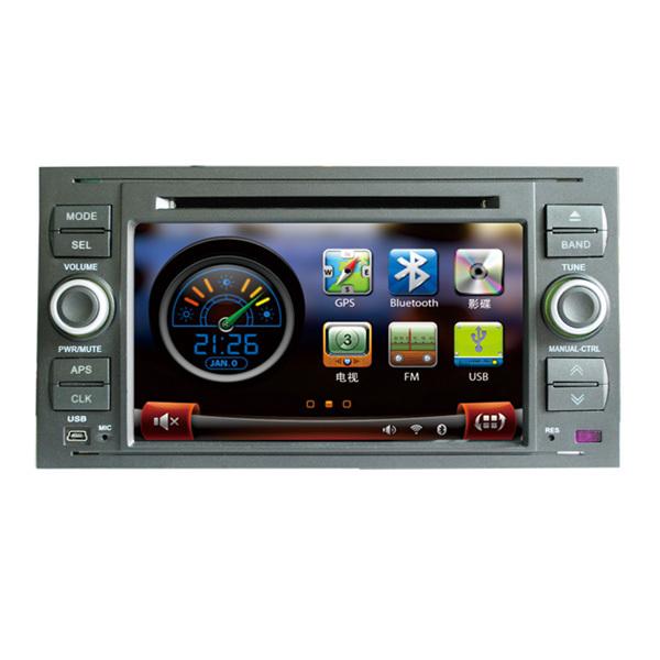 2 Din Car DVD Stereo for FORD FOCUS 2004-2007 KUGA GALAXY FIESTA With GPS Navigation Bluetooth IPOD Control Radio SD USB(China (Mainland))