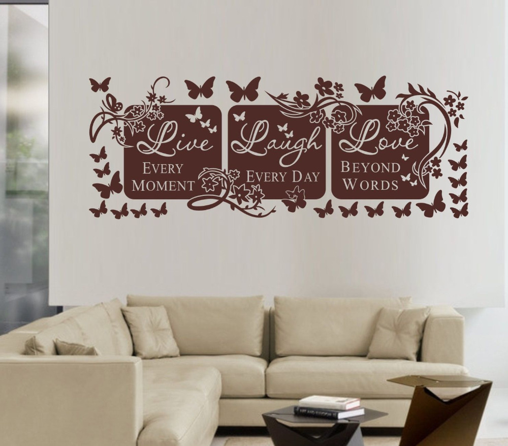 Design A Wall Sticker Home Design Ideas - Wall decals live laugh love