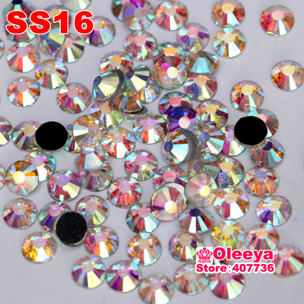 High Quality Better DMC Hotfix Rhinestones,ss16,crystal Clear White AB,Hight Quality Hot Fix Stone For Hot-fix Motif Y2881(China (Mainland))