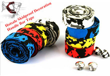 1 Piece 2015 New Colorful Decoration Cycling Handle Bar Belt Skidproof Bike Bicycle Handlebar Tape Wrap 3*190cm Rubber Foam
