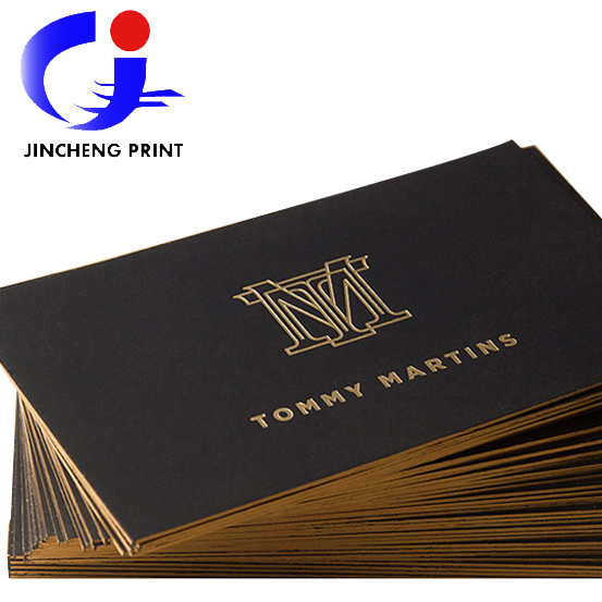 2015 Hot Sale Black Cardboard Luxury Business Card Custom