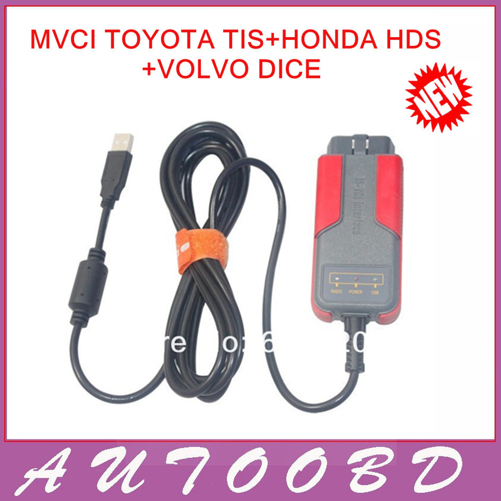 Newly MVCI For Toyota Tis/for H D S/for Vo lvo Vida Dice,Le xus OBDII diagnostic Tool M-VCI Interface Scanner FreeShipping<br><br>Aliexpress