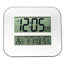 Big Digital Number LCD Calendar Wall Alarm Clock with Snooze,Thermometer&Hygrometer,Temperature&Humidity Read / Table&Desk Clock(China (Mainland))