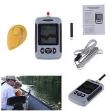 The Latest LUCKY Wireless Sonar Fish Finder River Lake Sea Bed Live Depth New Contour 131ft / 40M Fishfinder Fishing Finder(China (Mainland))