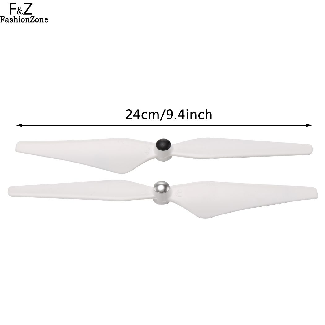 4Pairs 9450 Self-locking Enhanced Propeller for DJI Phantom 2 3 Vision/E30 White Quadrocopter Drone Replacement Spare Parts