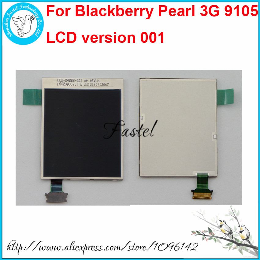 For Blackberry Pearl 3G 9105 LCD version 001 Original New Mobile Phone LCD screen digitizer display+Tools+Free shipping(China (Mainland))