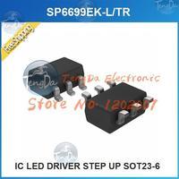 Free Shipping 5PCS/lot SP6699EK-L/TR IC LED DRIVER STEP UP SOT23-6 SP6699EK-L 6699 SP6699EK SP6699