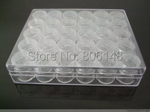 30 Small Bottle 16*13.5*3.5 cm Clear Plastic Jewelry Beads Storage Box, Retail DIY Accessories Set Case - No Best Only Better Leatherware store
