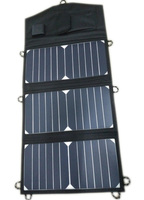 SUNPOWER Solar Cell 20Watt Folding Solar Charger+10A Solar Controller for 12V Car/Boat/Yacht/Jetski Battery+Phone/Laptop Charger