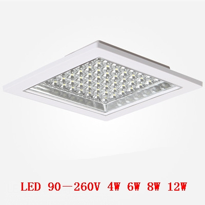 Ceiling lamp Square LED kitchen lights / WC Kitchen / water fog and dust / surface mounted installation of kitchen lighting(China (Mainland))