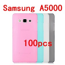 New product ! Transparent Soft TPU case for Samsung Galaxy A5 A500 A5000 Free shipping , Mixed colors  100pcs/lot