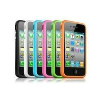 For Iphone 4S Bumper, Many Color, with Retail Packing Free Shipping By EMS 500pcs/lot