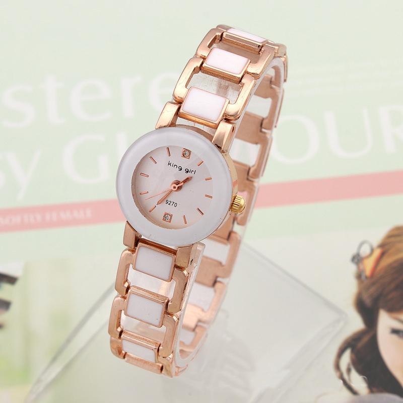 2015 New Fashion Women Rhinestone Watch Analog strap Rose Gold Plated Wristwatch Ladies Quartz Luxury brand Watches - Mia shop store