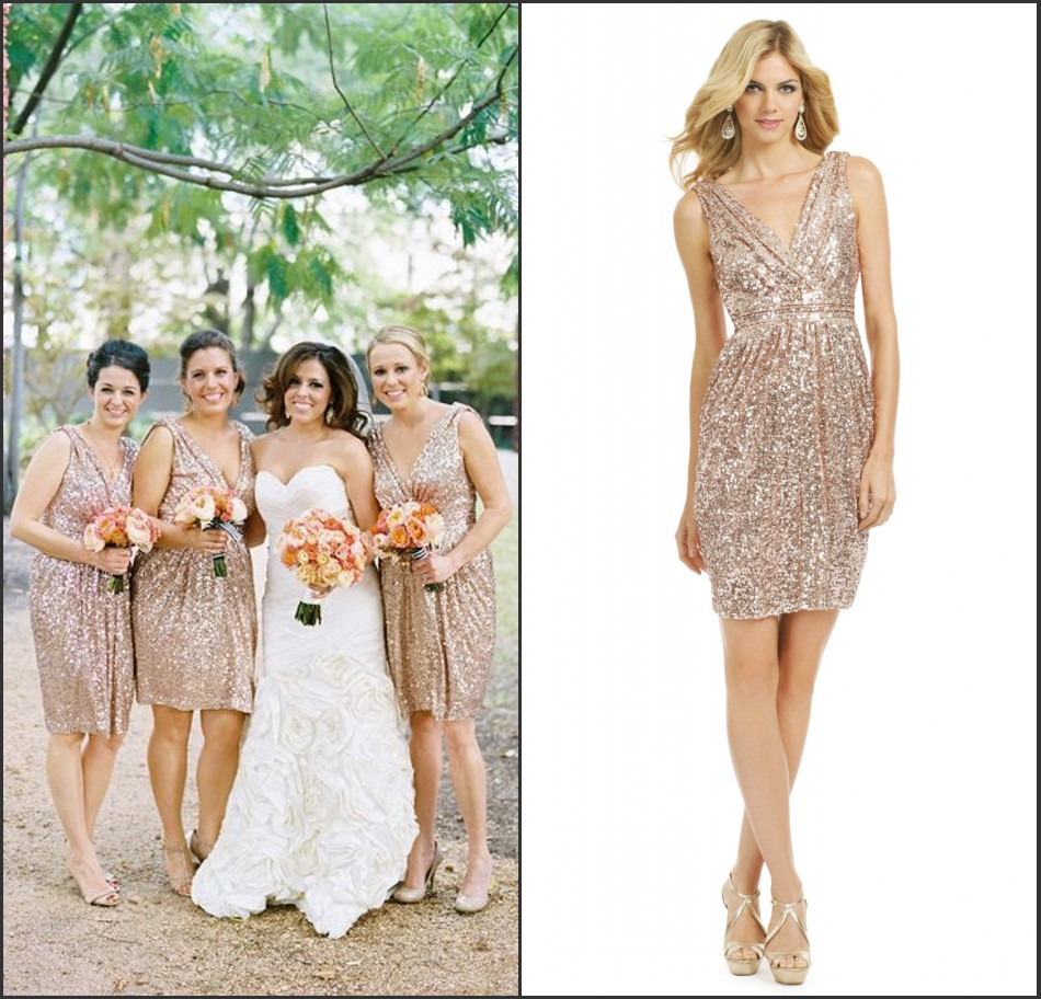 Gold sequin bridesmaid dress 55 images gold sequin bridesmaid gold sequin bridesmaid dress aliexpress buy custom made v neck sparkly sequined gold bridesmaid dresses 2015 ombrellifo Gallery