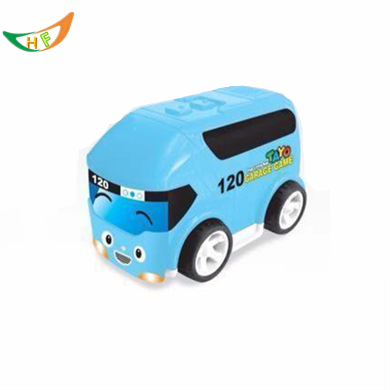 New 2016 Cartoon Tayo bus miniature pull back car mini plastic babies oyuncak model car anime tayo the little bus for kids(China (Mainland))