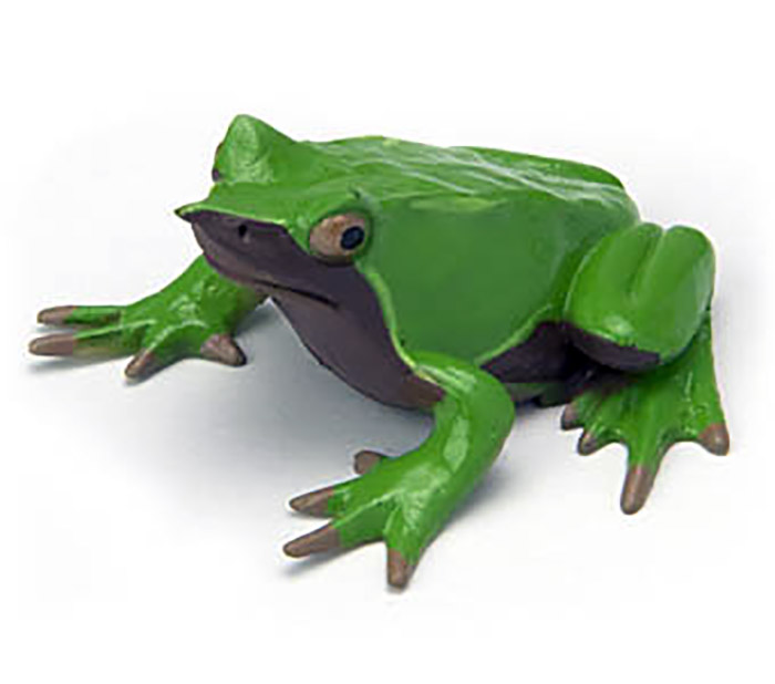 Original Japan genuine Animal Model Darwin poison toad Frog collectible Figurine Figure Toy Kids Gift(China (Mainland))