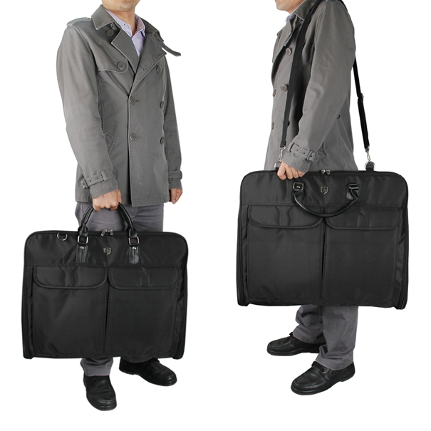 59.7*48.3*7.6 CM High Quality Waterproof Clothing Shirt Suits Storage Bags Fashion Floding Travel Bag Portable Men's Travel Bag(China (Mainland))