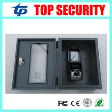 Multibio700 / iface7 visage de contrôle d'accès boîte de protection de bonne qualité métal protéger boîte couvercle de protection avec clé(China (Mainland))