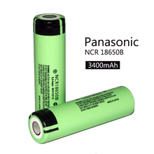 New Original 18650 rechargeable battery 3.7V Li ion bateria 18650 for panasonic ncr18650b 18650 battery.