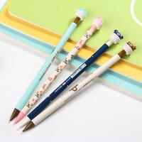 Novelty Little Bear Cartoon Plastic Mechanical Pencil Automatic Pen For Kid School Office Supply Escolar Papelaria