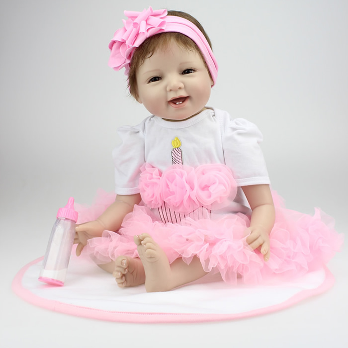 Soft silica gel artificial doll baby toy baby props solid silicone reborn baby dolls wholesale lifelike baby soft dolls(China (Mainland))